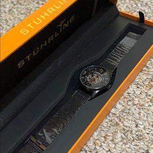 NWT Stührling Original Skeleton Watch